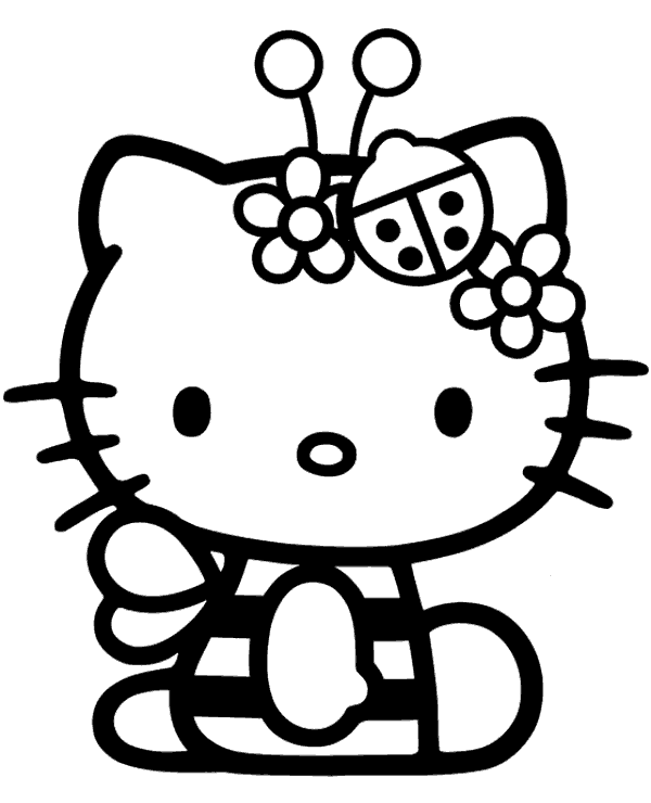 Hello Kitty Halloween Coloring Pages Best Coloring Pages For Kids Hello Kitty Halloween Hello Kitty Coloring Kitty Coloring