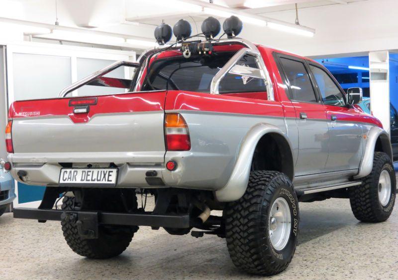 Mitsubishi L200 Pick Up 4x4 Magnum Monster Truck Ahk Klima In De 46049 Oberhausen Nemecko Vozidla Nemecko Auta