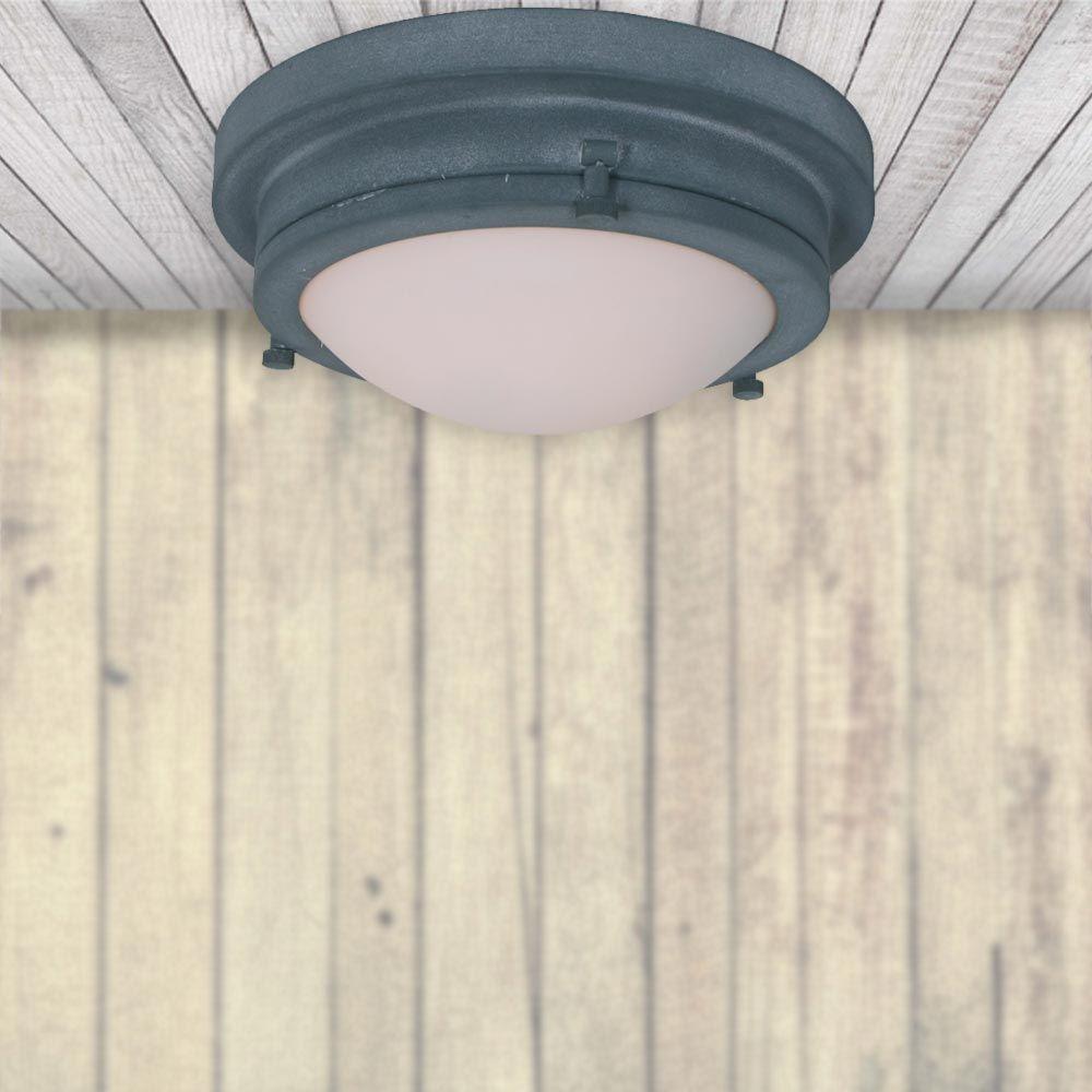 Industrial Grey Ceiling Flush Light CL Pinterest Grey