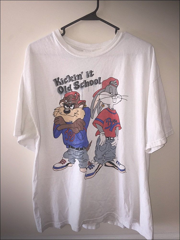 8f13d5bc24307c Vintage 90's Looney Tunes Taz & Bugs Kris Kross Hip Hop Shirt - Size XL by  JourneymanVintage on Etsy