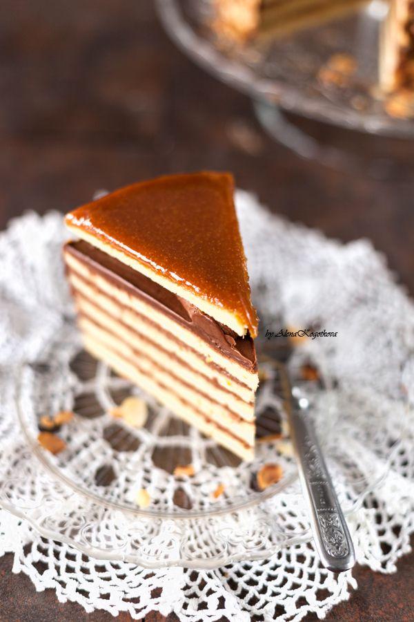 торт добош рецепт с фото