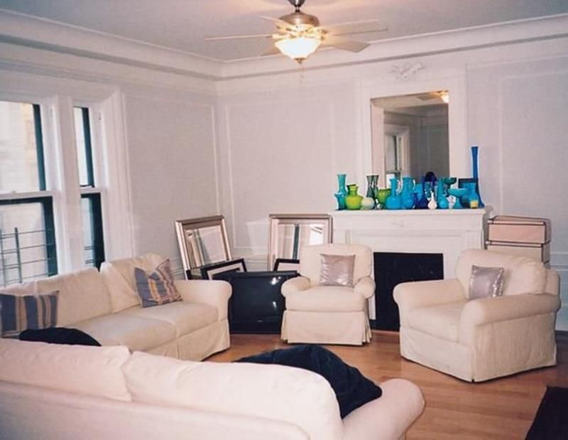 12 Inspiring Living Room Makeovers (Before and After) Living room