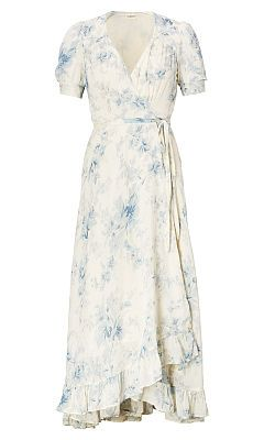 Floral-Print Gauze Wrap Dress - Denim & Supply  Midi - RalphLauren.com