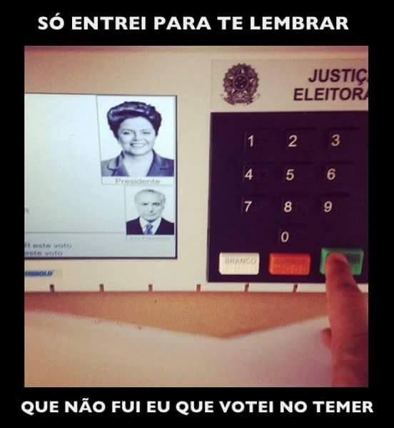Diário de um Gaúcho Grosso: POLITICA BRASILEIRA...