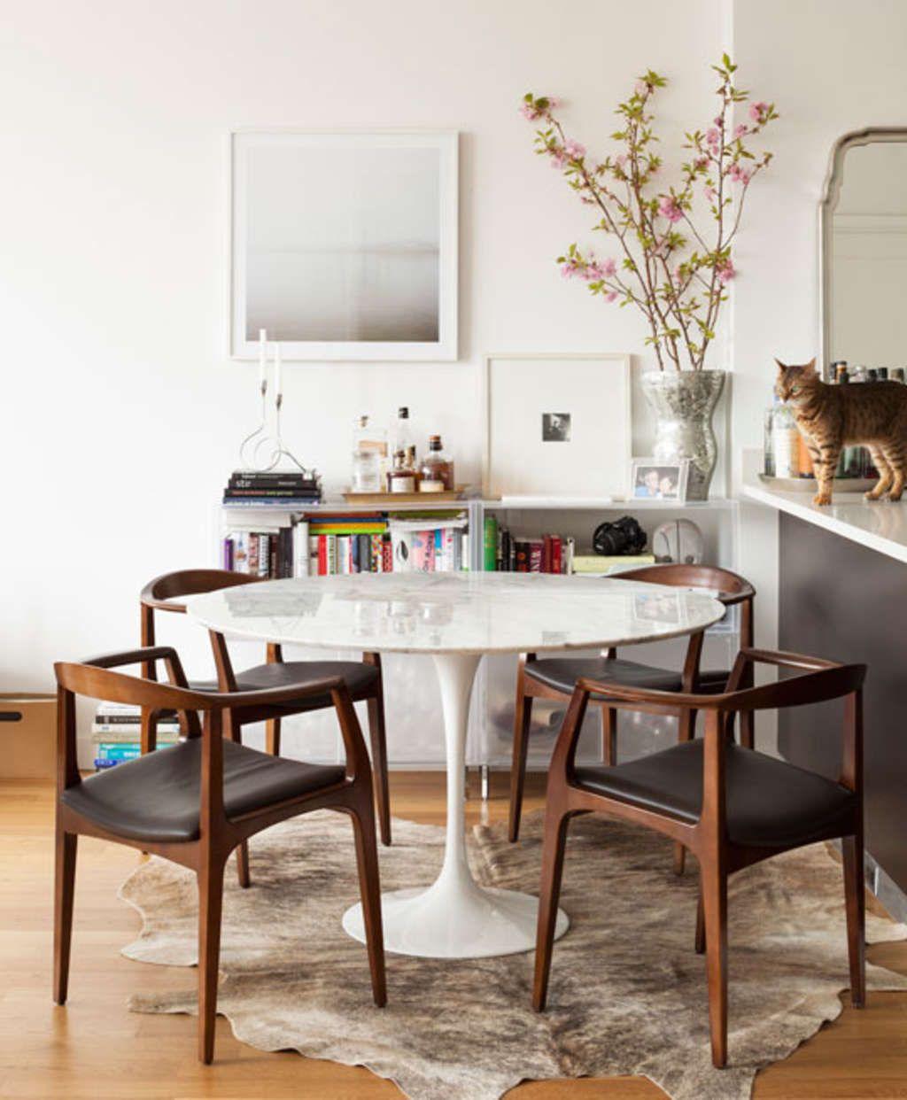 Modern Classics Eero Saarinen S Tulip Table With Images Mid