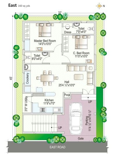 Pin By Nagesh Gowda On House Plans Indian House Plans 2bhk House Plan Duplex House Plans