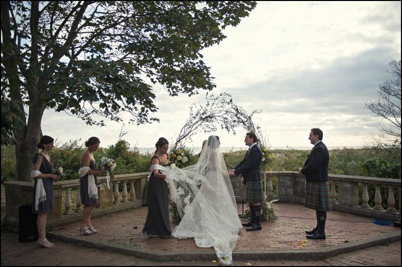 Douglas Melanie S Wedding Harkness Park Connecticut Outdoor Ceremony Wedding Eolia
