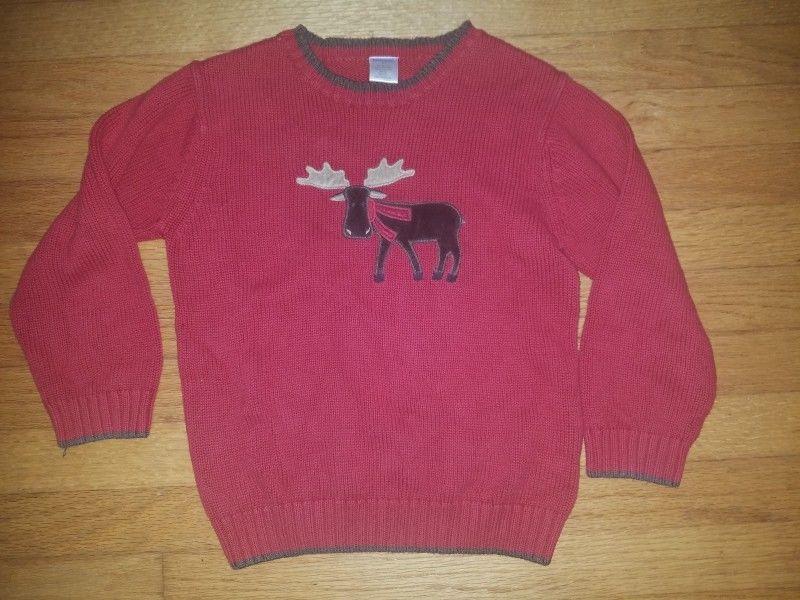 146af6118 Gymboree boys 5t moose sweater holiday Christmas #fashion #clothing #shoes  #accessories #babytoddlerclothing #boysclothingnewborn5t (ebay link)