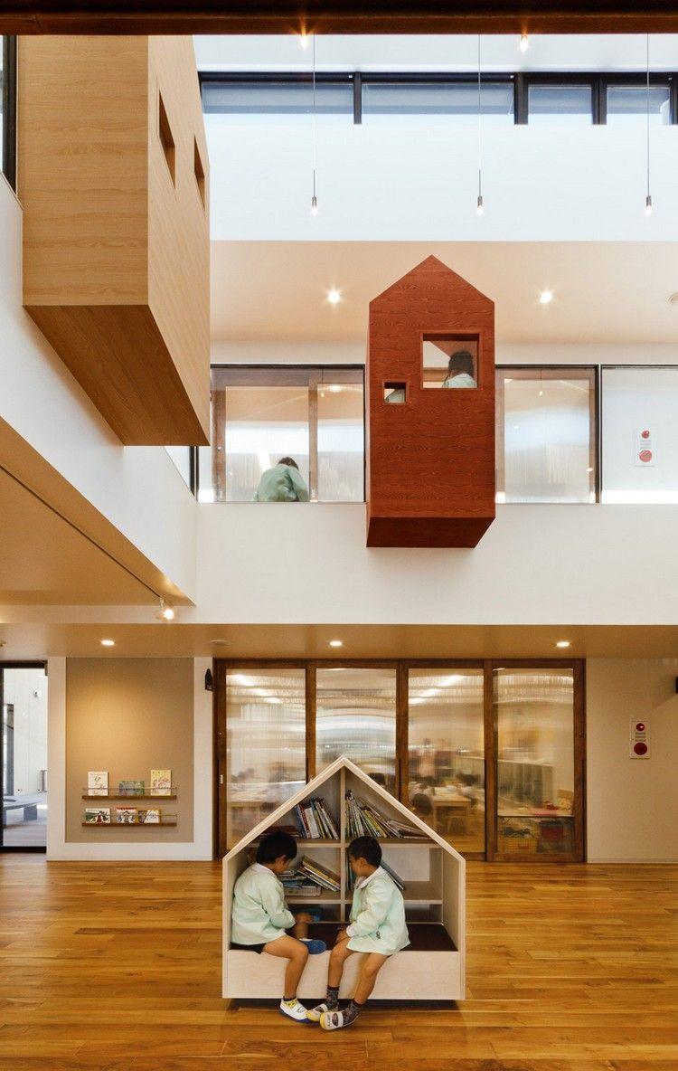 H ngende leseecken im kindergarten deko einrichtung for Raumgestaltung und innenarchitektur