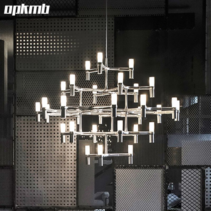 Modern Crown MAJOR chandelier lighting  9/12/15head living room drop light  glass chandelier lampara