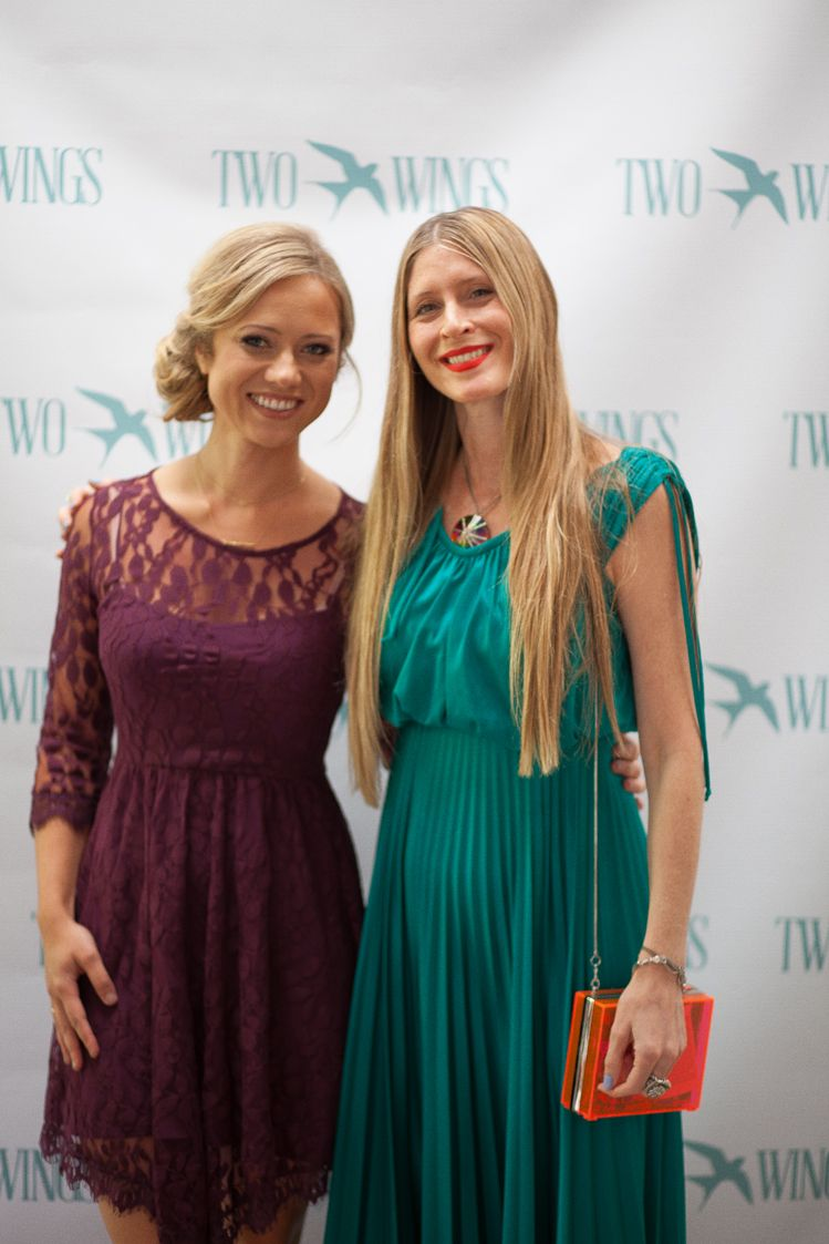 Jane Cosmetics Chief Creative Officer Jill Tomandl With Ceo Of Two