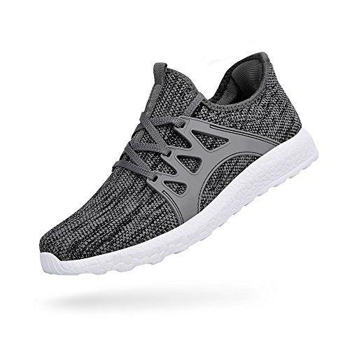 ZOCAVIA Chaussures de Sport en Mesh Homme Femme Basket sans Lacets Chaussure  Running Leger Et Confortable 847e804275a