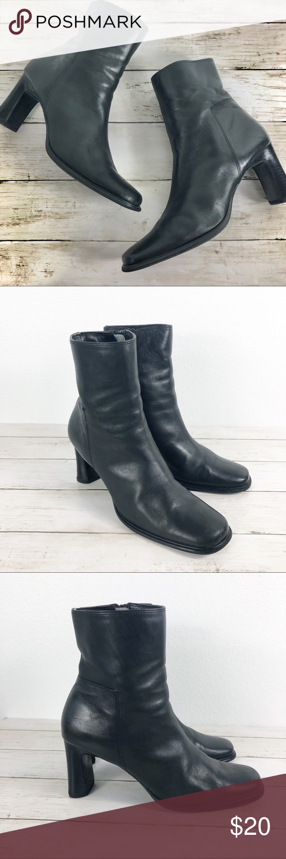 Stainless ankle boots
