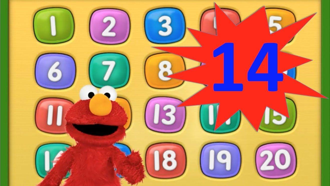 elmo 1234 - number 14