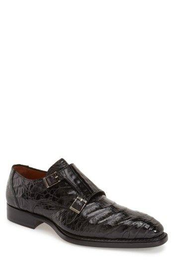 9a26f0ace58 MEZLAN  PRAGUE  GENUINE CROCODILE DOUBLE MONK STRAP SHOE.  mezlan  shoes