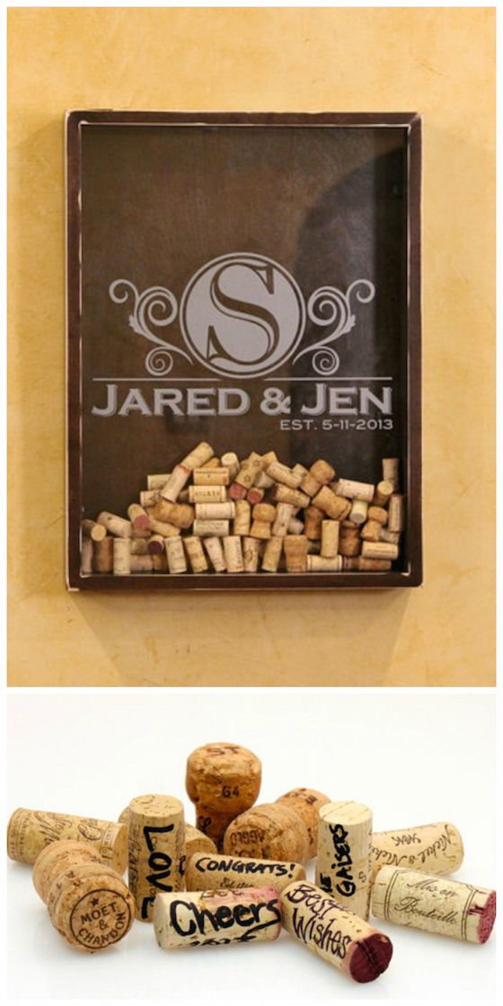 """What a great """"guest book"""" idea! Display in home after the wedding."""