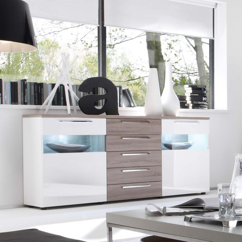 Sophisticated Sideboards Eiche Geужlt Photos - Simple Design Home ...