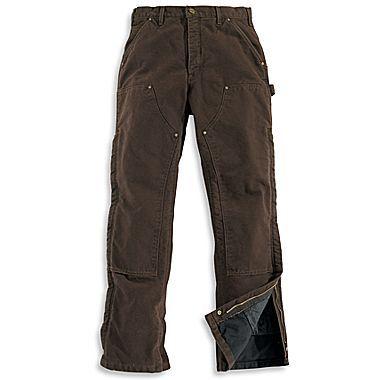 Carhartt B194 Mens Insulated Pants Black 32x34 Wish List