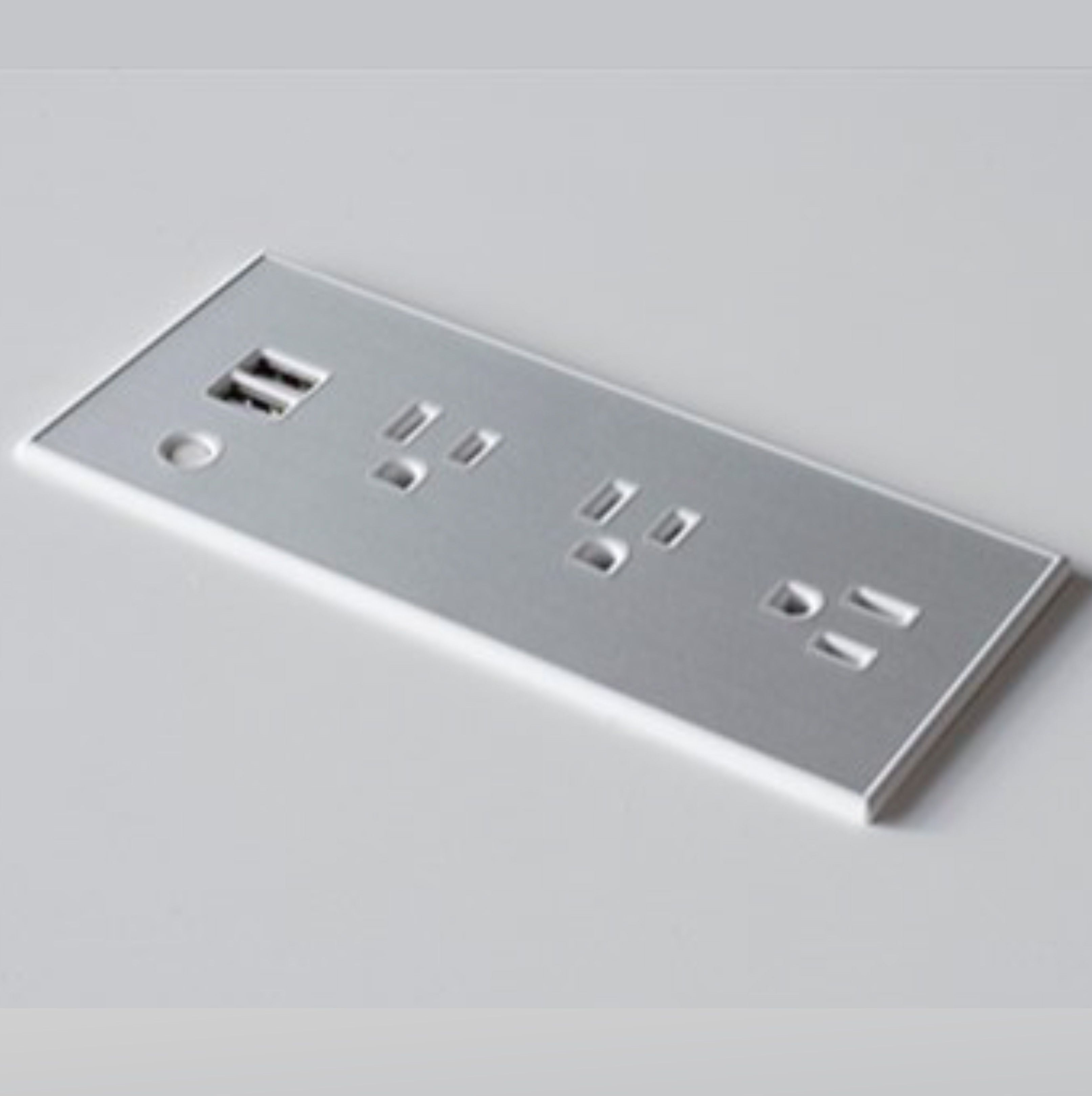 Flush Mount Power Strip With Outlets And Usb Ports Flush Mount