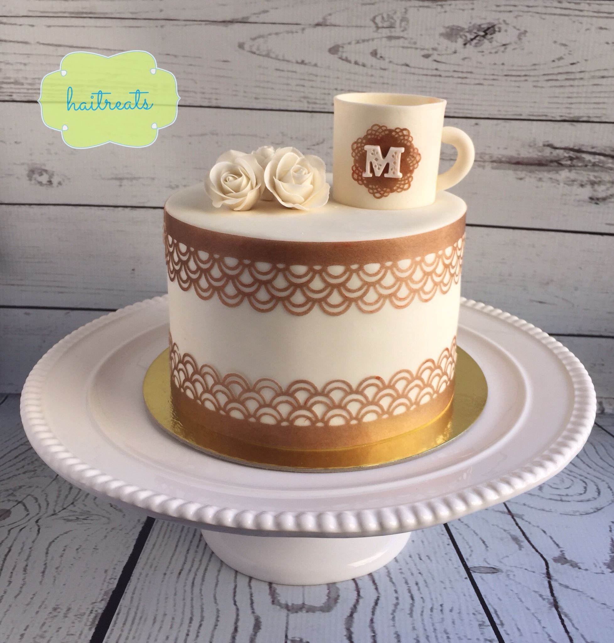 Coffee Cake Birthday Cakes By Haitreats Pinterest Coffee Cake
