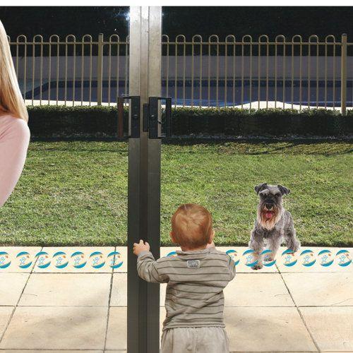 Sliding Glass Door Safety Decals Preschool Stuff Pinterest