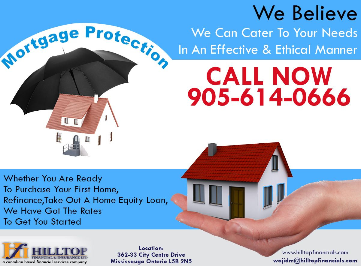 Looking For Mortgage Insurance We Believe We Can Cater To Your