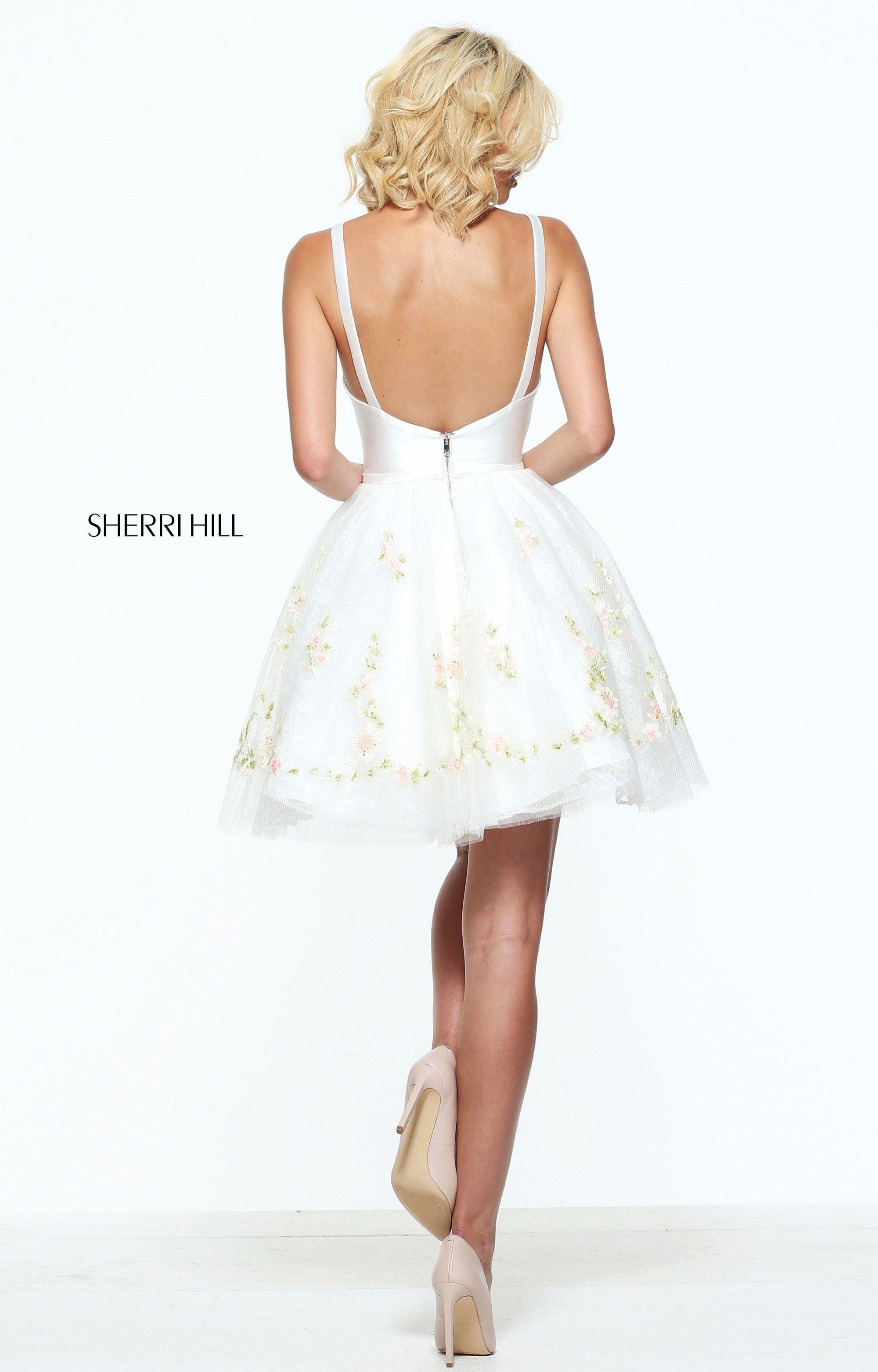 Sherri Hill 51066 Prom Dress | MadameBridal.com #sherri hill #prom dress #