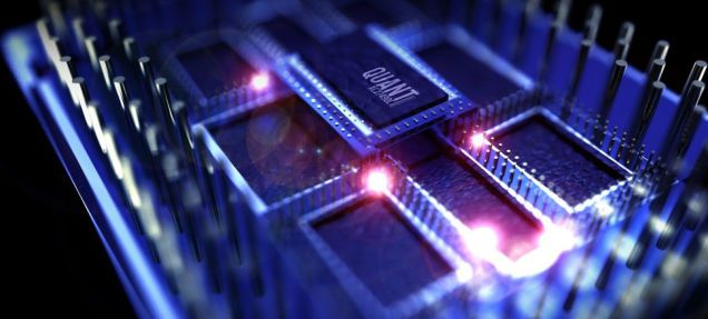 This Is What A 50 Qubit Quantum Computer Looks Like Sans Cooling