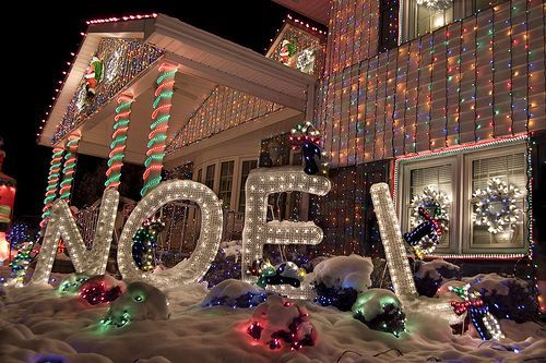 Over the Top Christmas Decorations it COLOSSAL Christmas - christmas decorations for outside