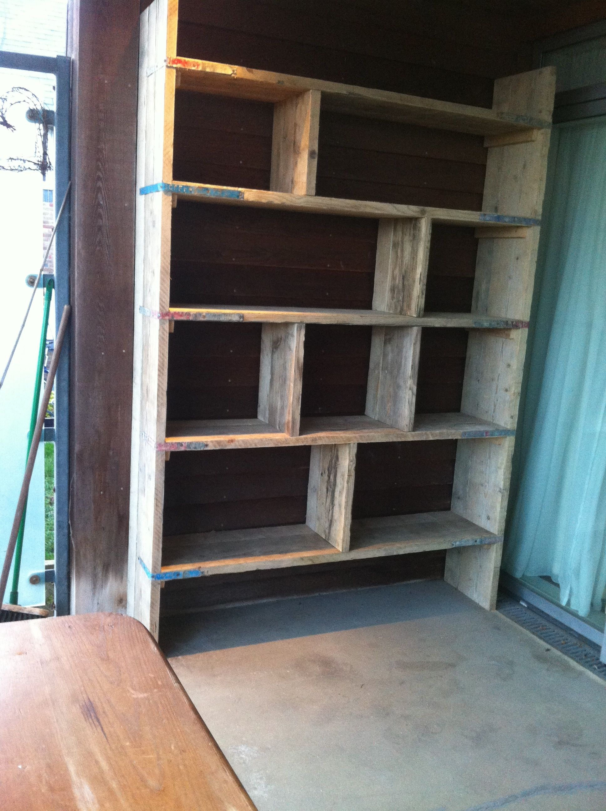 Scaffold Book Shelf Make It Pinterest Scaffolding