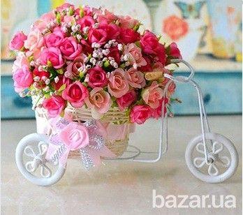 Карета с цветами | Flower decorations, Flower arrangements, Flower vases