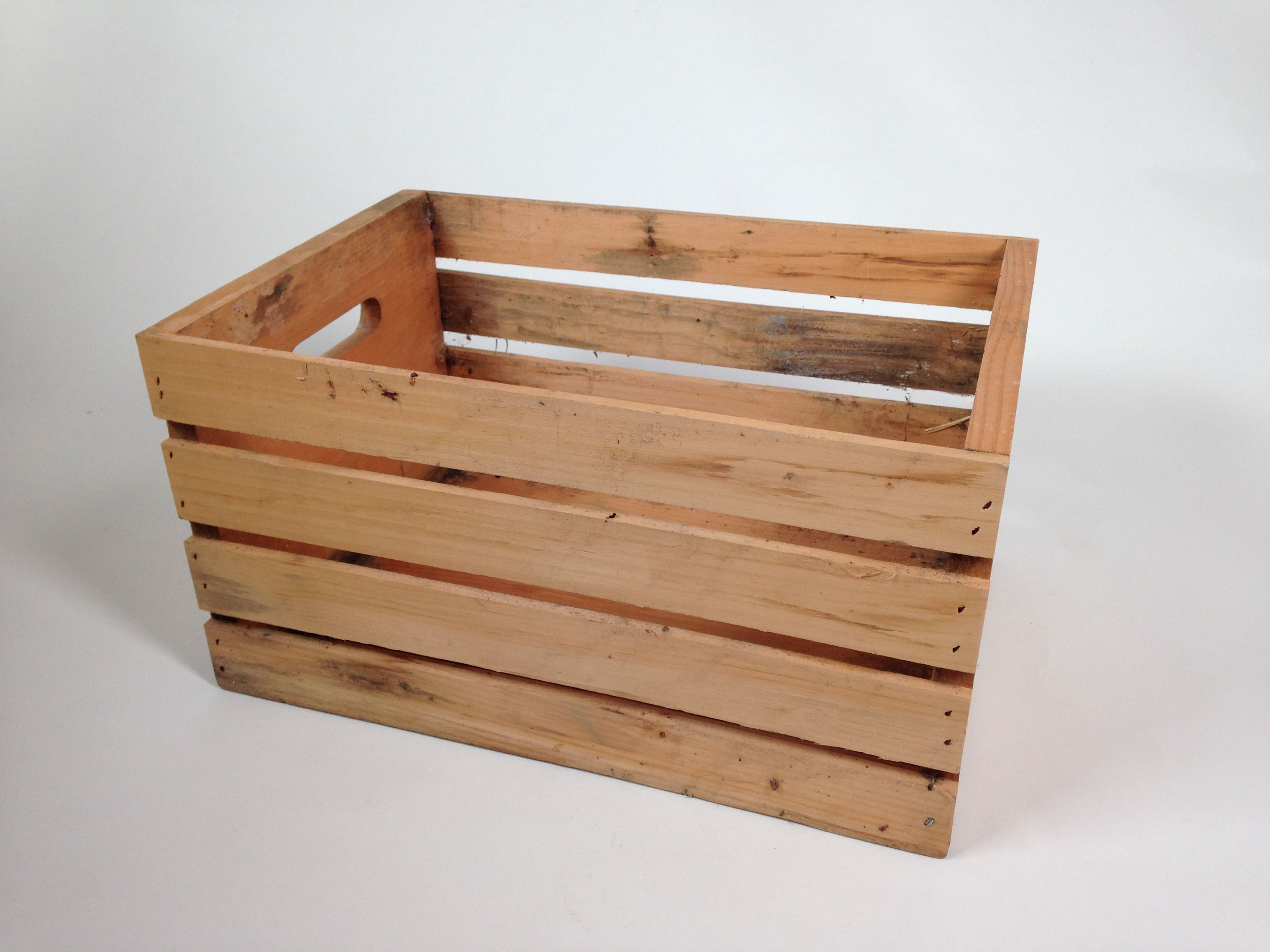 Wooden Crate 18 Wide X 12 Deep X 10 Tall Quantity 1 Color