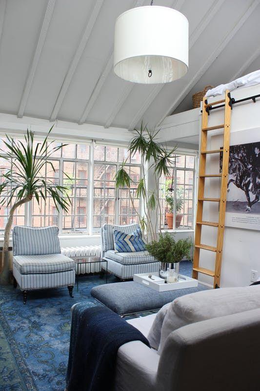 New york un studio loft aux styles vintage et original