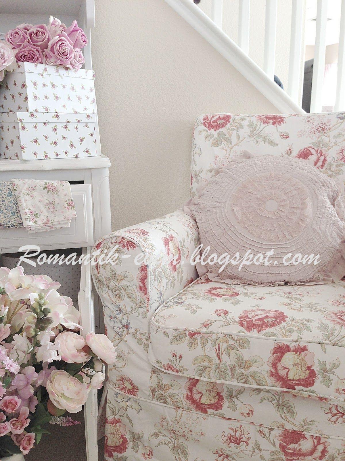 Floral armchair-Modernish