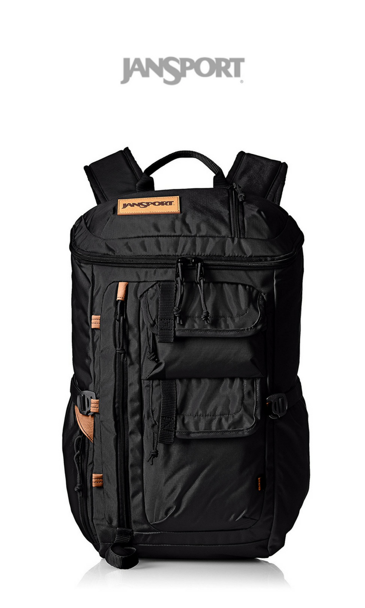 JanSport - Watchtower Backpack   Black Ballistic Nylon   Click for Price  and More   Backpack eaa54ab4b7
