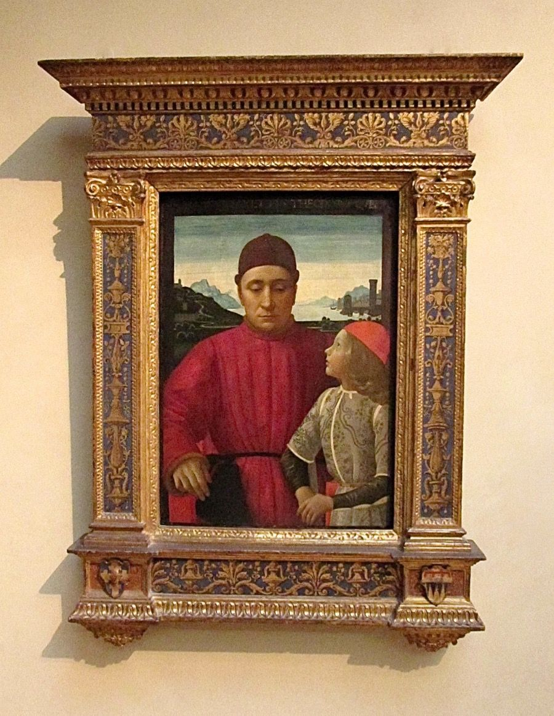"""Frame made for Painting 1421 Italian """"Francesco Sassetti & Son"""