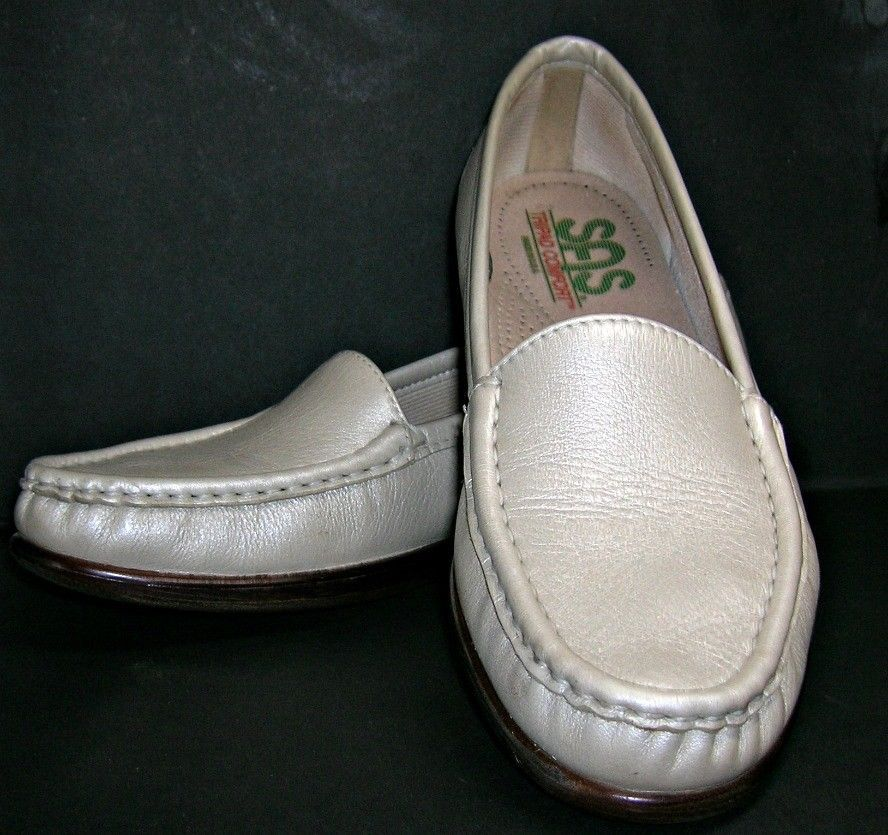 d4edb095589 SAS Slip On Loafer Shoes Simplify Pearl Size 8.5 Slim FREE SHIPPING  SAS   Loafers  Casual