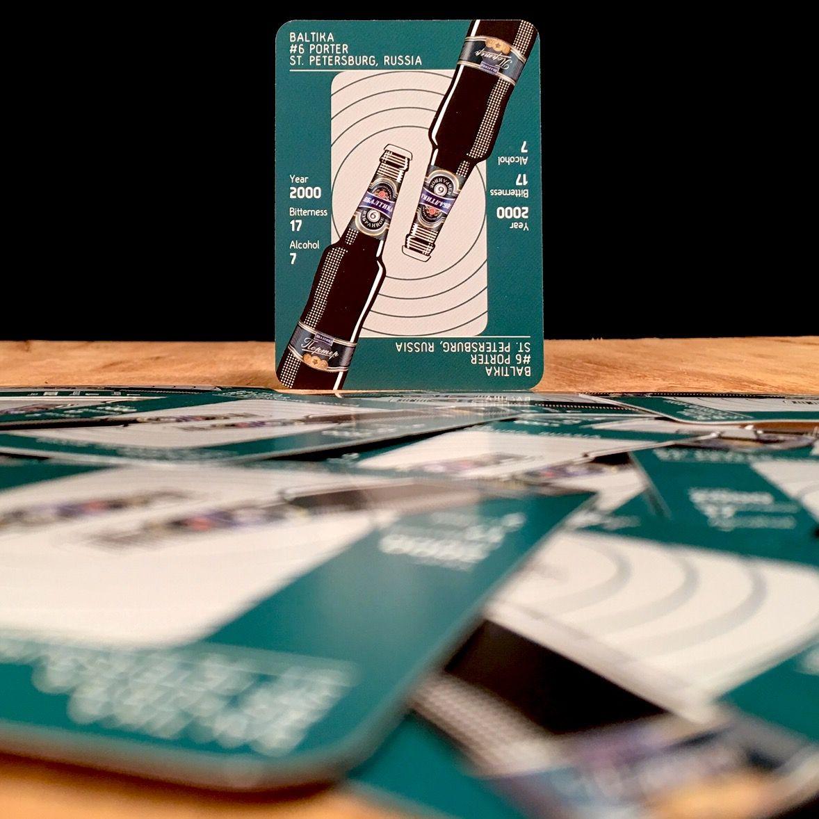 Hip Hops the beer card game Baltika 6 Porter. St