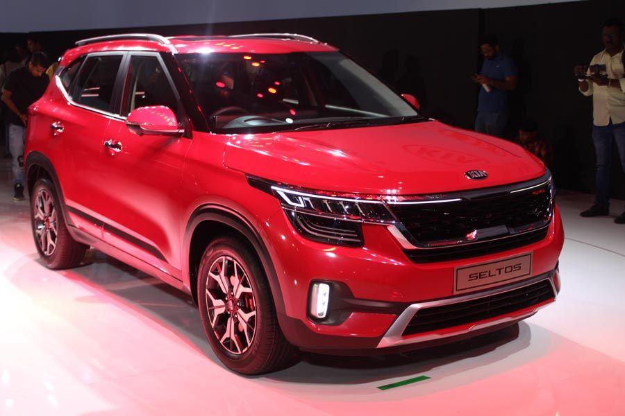 Kia Seltos Photos World Premiere Launch In 2020 Kia Kia Motors Tata Motors