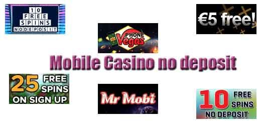 Mobile Casino Free Signup Bonus