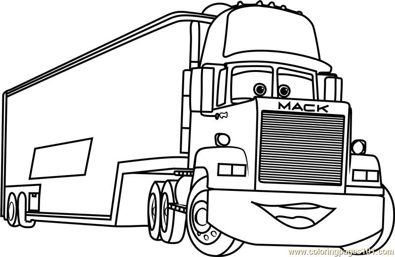 Mack Truck Coloring Pages Truck Coloring Pages Coloring Pages Cars Coloring Pages