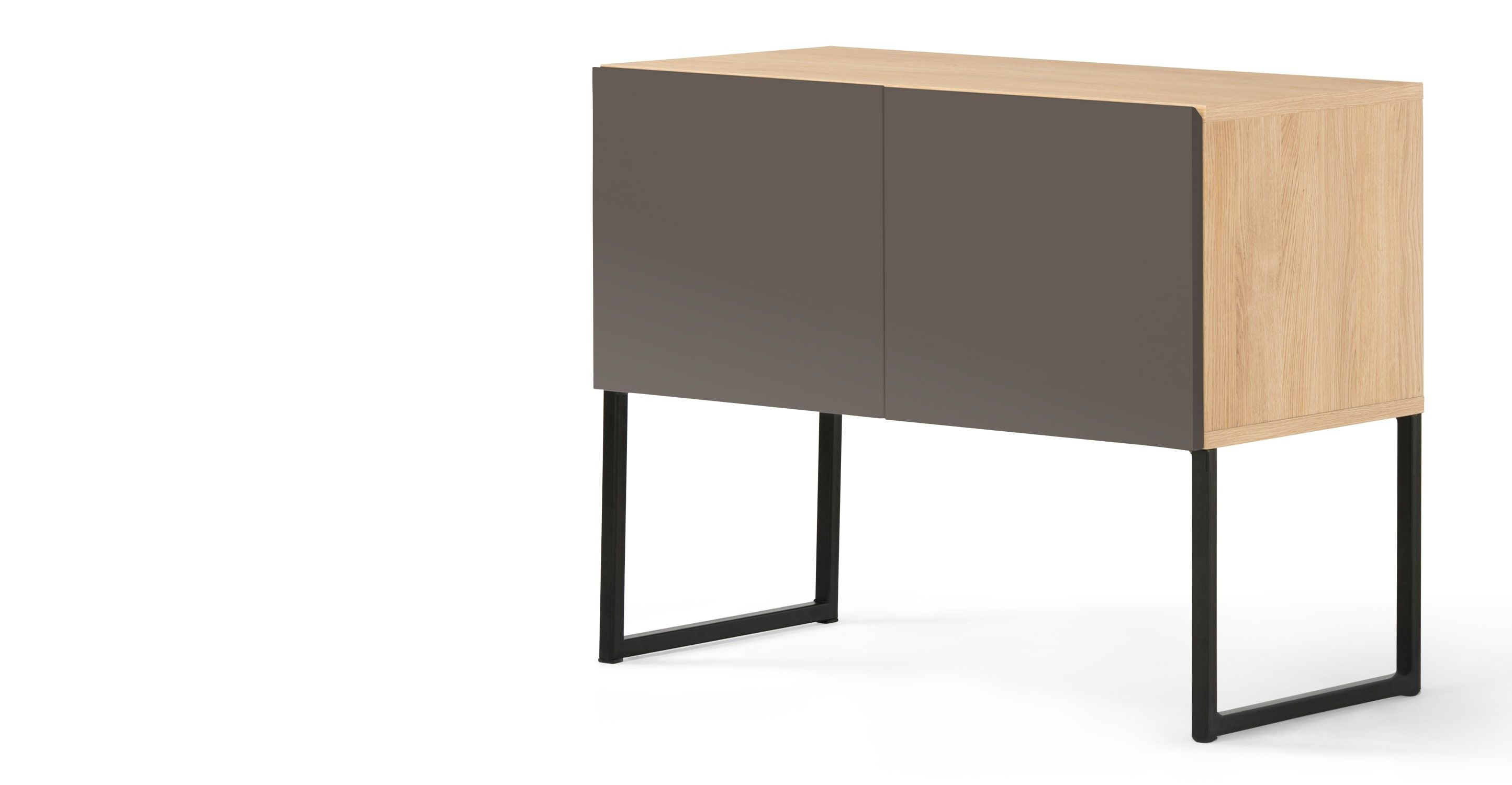 Faszinierend Sideboard Mit Füßen Ideen Von Hopkins Sideboard, Oak And Grey | Madereview