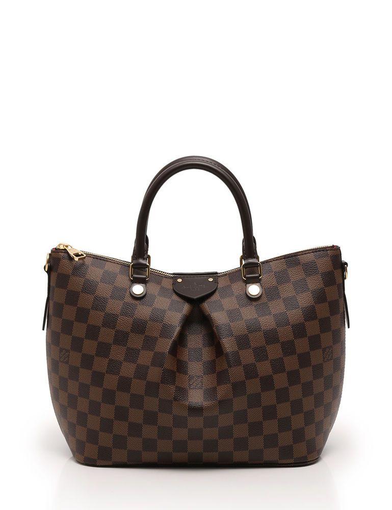 54acb193314 LOUIS VUITTON Siena MM hand tote bag 2WAY Damier Ebene brown | Clothing,  Shoes & Accessories, Women's Handbags & Bags, Handbags & Purses | eBay!