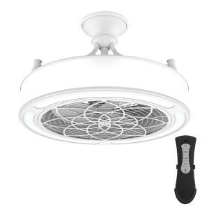 Stile Anderson 22 In Led Indoor Outdoor White Ceiling Fan