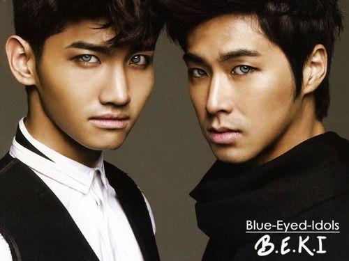 Blue Eyed K Pop Idols 276 Homin Shim Changmin Jung Yunho Tvxq Tvxq Blue Eyes Idol