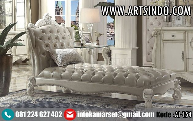 Model Sofa Lounger Klasik Mewah AI-154 Furniture Jepara Jual Sofa ...