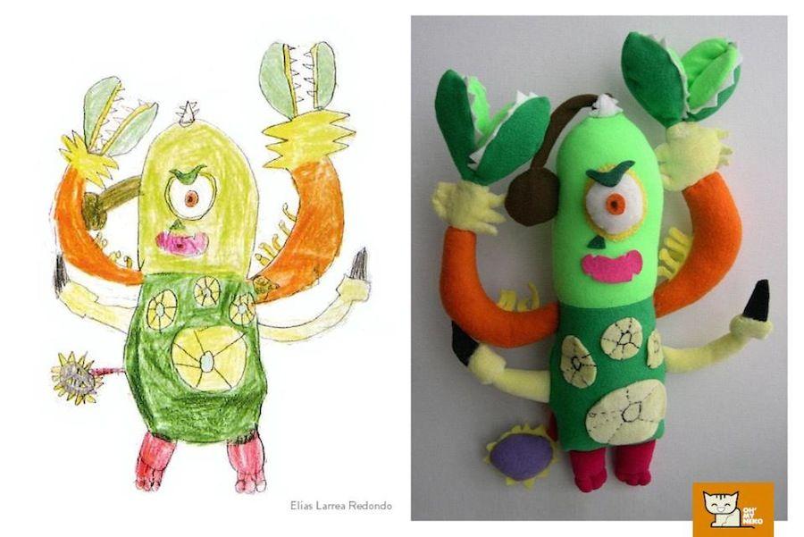 La Abuela Que Convierte Dibujos De Ninos En Peluches Dibujos Para Ninos Como Dibujar Cosas Peluches