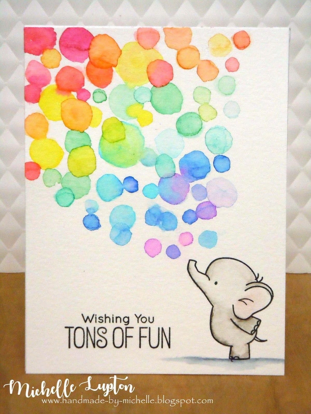 Rainbow Tons Of Fun Verjaardagskaart Ideeen Kaart Ideeen