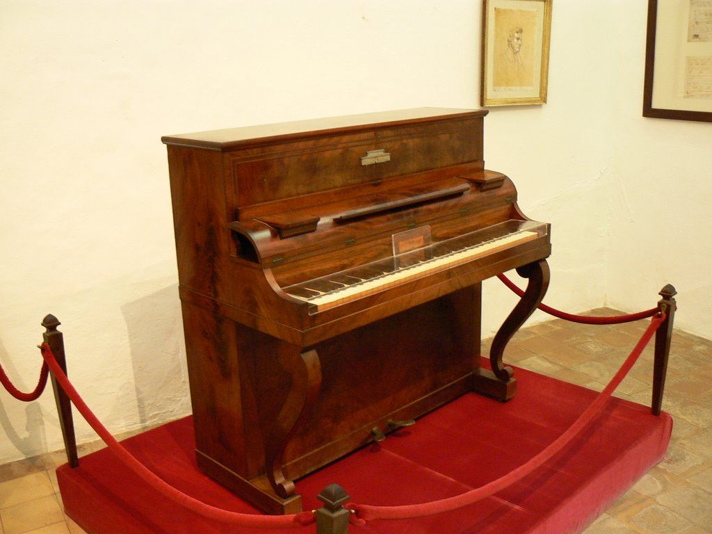 Cartuja de Valldemosa. Piano de Chopin