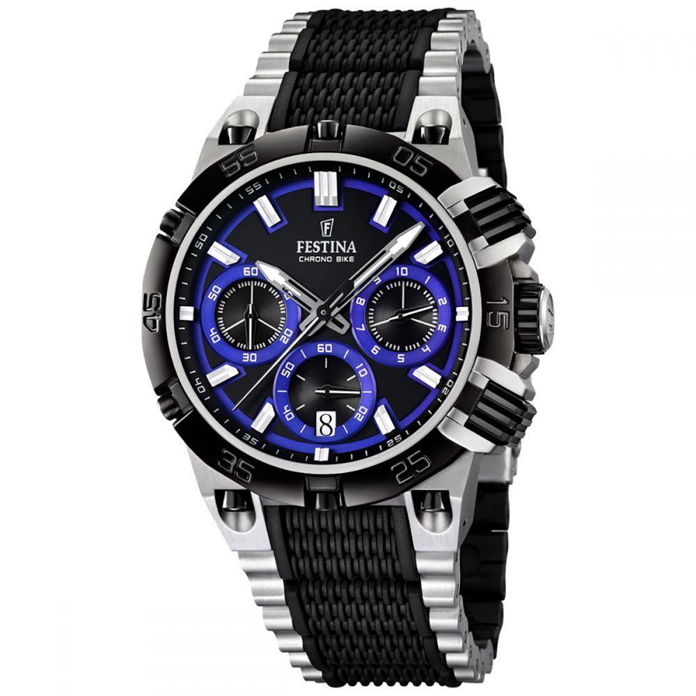 Beschreibung Details Hersteller Festina Chrono Bike 2014 Uhrwerk Quarz Miyota M6s20 Antrieb Batterie Anzeige Analog Wasserd Festina Uhren Uhren Und Ingersoll Uhren
